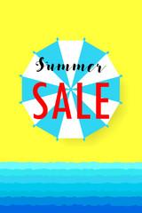 Hot summer sale. ice cream
