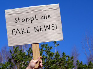 gegen FAKE NEWS