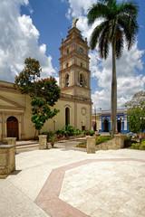 Kathedrale von Camagüey am Parque Ignacio Agramonte, Kuba