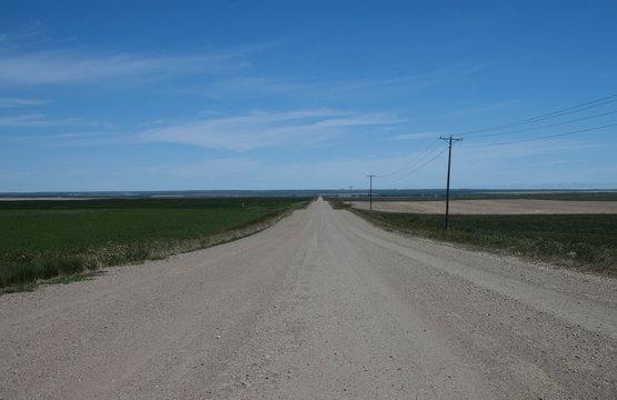 Montana road to nowhere
