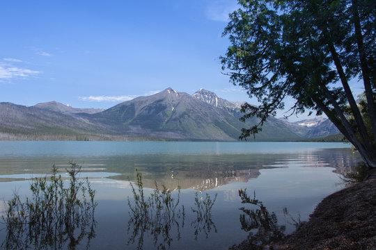 Glacier Lake in Montana