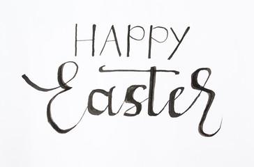 Handwritten Happy Easter note