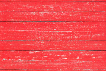 Distressed red rustic wood backdrop