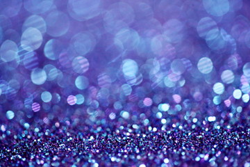 Purple Blue Sparkle Glitter Background