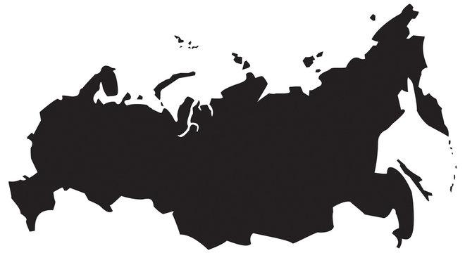 ICÔNE CARTE DE RUSSIE