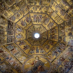 Baptisterio en Florencia, Italia