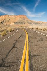 Rural Road No Maintenance Utah Back Country