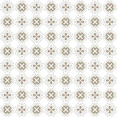 Seamless texture with 3D rendering abstract fractal brown pattern