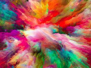 The Escape of Surreal Paint