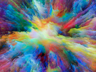 Exploding Surreal Paint
