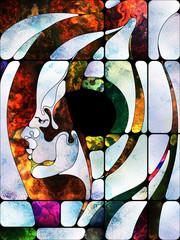 Toward Digital Colored Glass