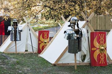 Roman military uniforms