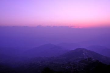 ネパール、ナガルコット