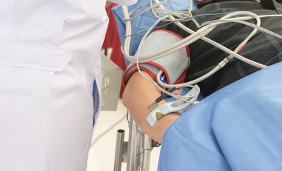 Check Pulse Measurement Vascular examination