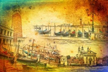 Venice art illustration