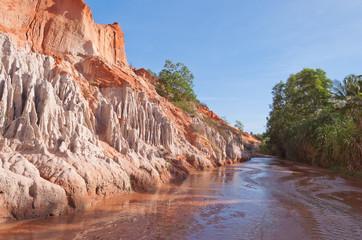 Fairy Stream Canyon. Mui Ne. Vietnam