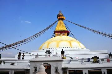 震災前ネパール、ボナート
