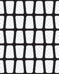 Black seamless lattice background