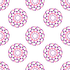 Seamless ornamental pattern. Abstract background.