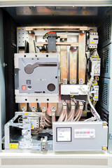 Electrical Motor Soft Starter Drive controller application in industry plant