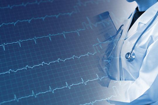 医療イメージ 心臓の検査