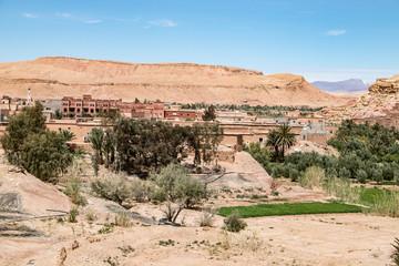 Ouarzazate - Wüstenstadt in Marokko