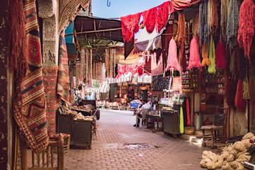 Färbersouks in Marrakech