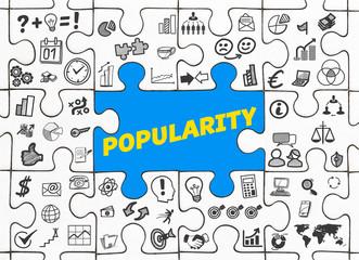 Popularity / Puzzle mit Symbole