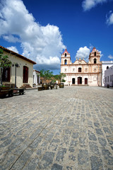 Iglesia de Nuestra Señora del Carmen, Plaza del Carmen, Camaguey, Kuba