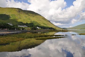 Ireland - lake and hill