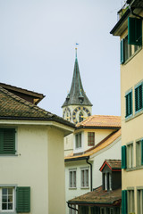 Roofs Of Zurich