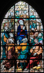 Wall Mural - Stained Glass - Pentecost