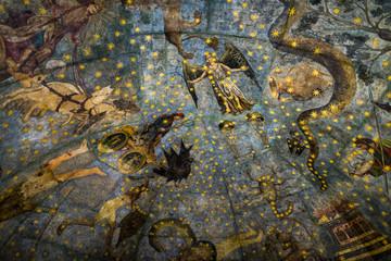 El Cielo de Salamanca , imagen medieval del zodiaco