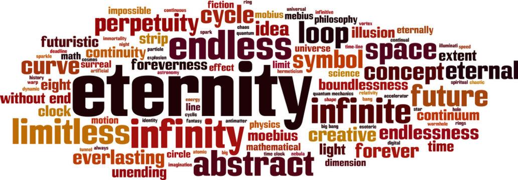 Eternity word cloud