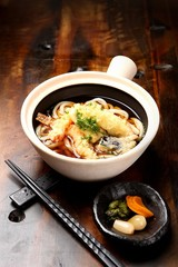 Deep-fried Shrimp Udon