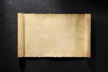 notebook on black