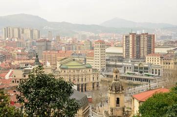 Aerial view of bilbao,vizcaya,Basque Country