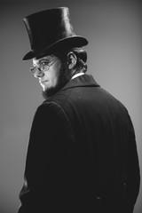 Abraham Lincoln Lookalike Studio Portraits