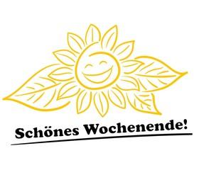 Sonnenblume / Schönes Wochenende!