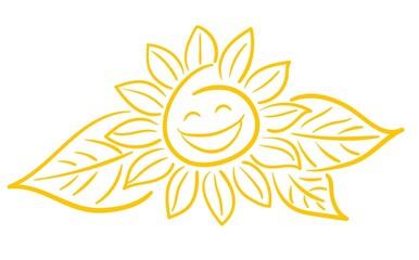 Sonnenblume Gesicht