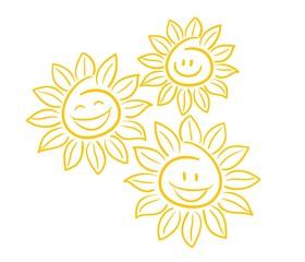 Sonnenblumen Vektor