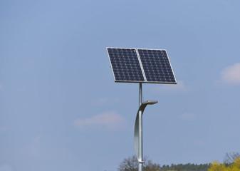 Solar Betriebene Straßenlampe