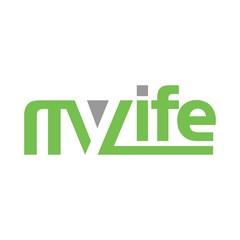 my life logo vector. logotype.