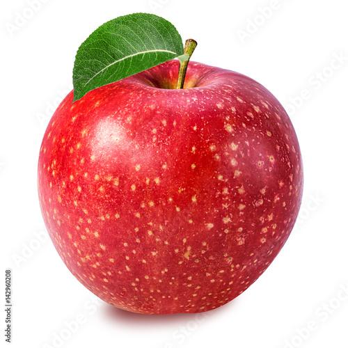 Fototapete apple isolated on white