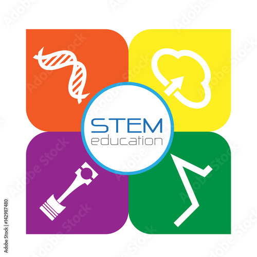 "Stem School Logo: ""stem Education Logo"" Stock Image And Royalty-free Vector"