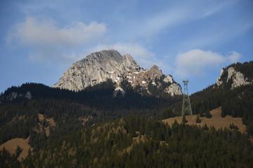 Wendelstein, Berg, Bayerische Alpen, Sender, Sendemast, Seilbahn, Abend, Bayrischzell