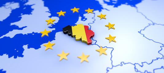 Brüssel in Belgien - Hauptstadt von Europa