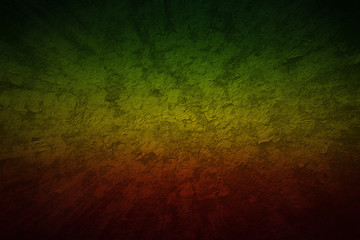 Red, Yellow, Green color reggae style. Grunge motion speed background blank for design