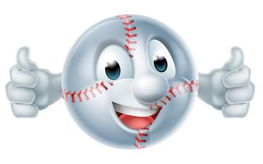 Baseball Softball Ball Man Character