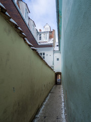 Strada Sforii (Rope Street) is the narrowest street in Brasov, Romania, and one of the narrowest in the whole Europe
